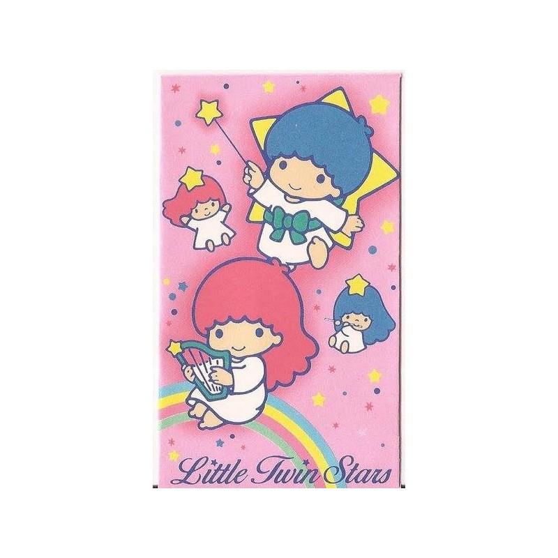 Ano 1987. Mini-Envelope Little Twin Stars Vintage Sanrio