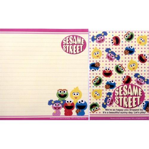 Conjunto de Papel de Carta IMPORTADO Sesame Street 02