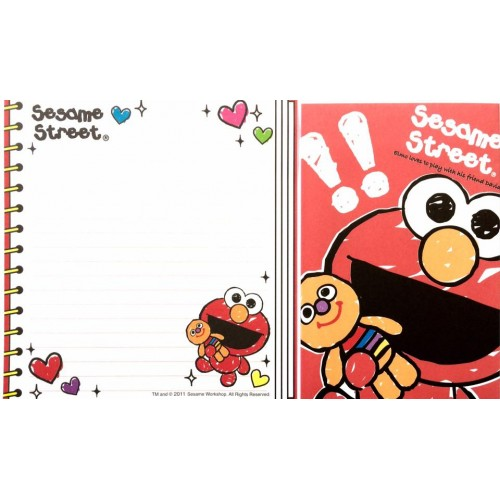 Conjunto de Papel de Carta IMPORTADO Sesame Street 14