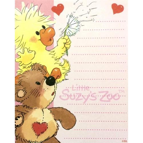 Papel de Carta IMPORTADO Suzy's Zoo M2