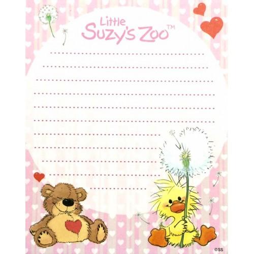 Papel de Carta IMPORTADO Suzy's Zoo M3