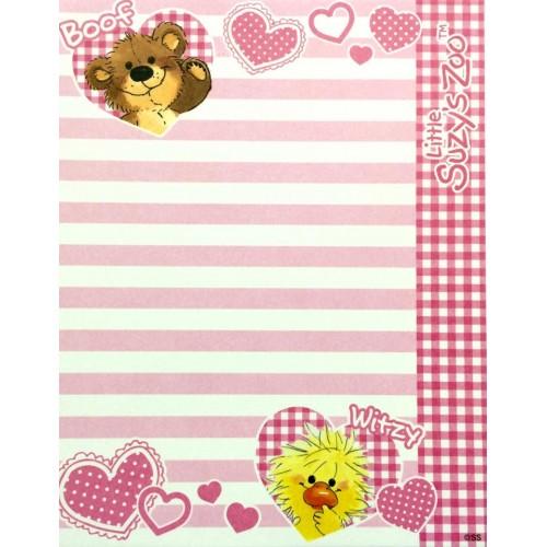Papel de Carta IMPORTADO Suzy's Zoo M5