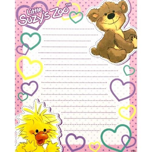 Papel de Carta IMPORTADO Suzy's Zoo M6