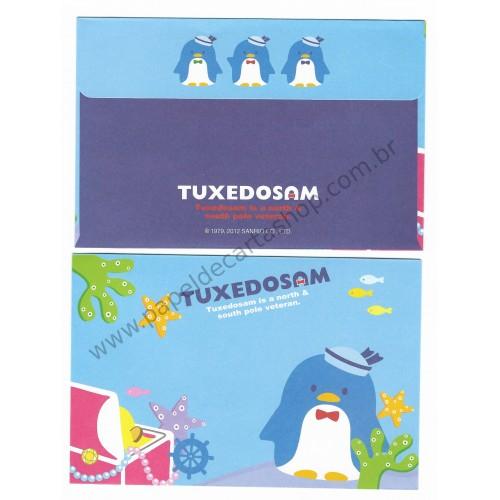 Ano 2012. Conjunto de Papel de Carta Tuxedosam Treasury Sanrio