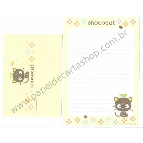 Ano 2005. Conjunto de Papel de Carta Chococat (AM 03) Sanrio