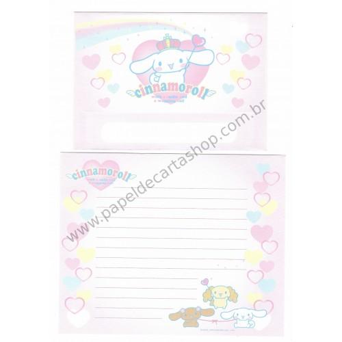 Ano 2004. Conjunto de Papel de Carta Cinnamoroll Sanrio