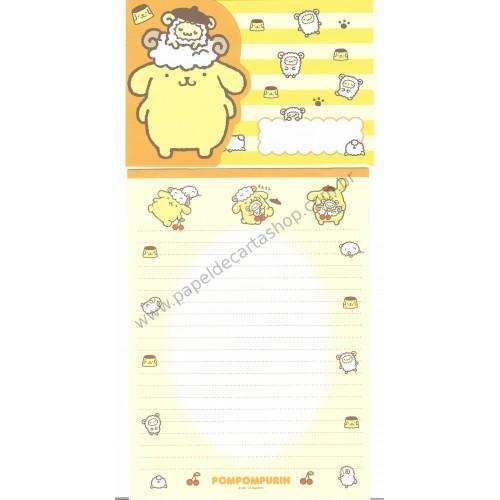 Ano 2014. Conjunto de Papel de Carta Pompompurin Sheep CAM Sanrio