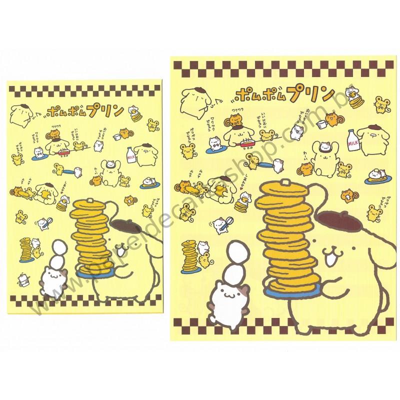 Ano 2014. Conjunto de Papel de Carta Pompompurin Sanrio