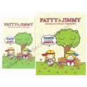 Ano 2007. Conjunto de Papel de Carta Patty & Jimmy Hanging Out Sanrio