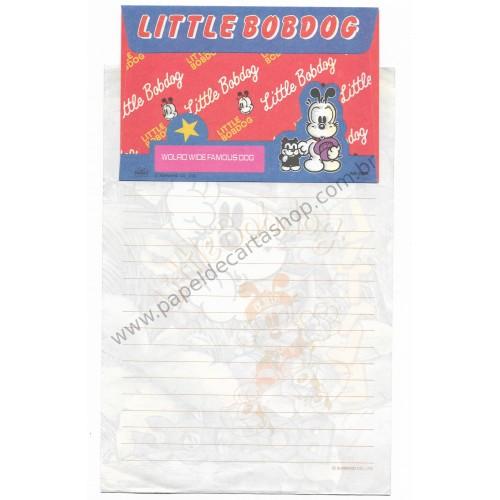Conjunto de Papel de Carta Antigo (Vintage) Little Bobdog Floresta Wealthyluck Sunward