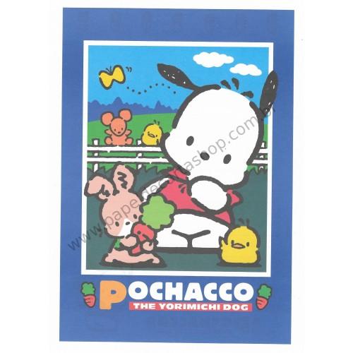Ano 1997. Conjunto de Papel de Carta Pochacco G Vintage Sanrio