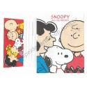 Conjunto de Papel de Carta Snoopy & His Friends VM Antigo (Vintage) Hallmark - Peanuts