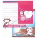 Ano 2008. Conjunto de Papel de Carta Hello Kitty Regional Japão Yokohama4 Sanrio