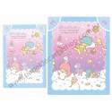 Ano 2013. Conjunto de Papel de Carta Little Twin Stars Magic Wand Sanrio