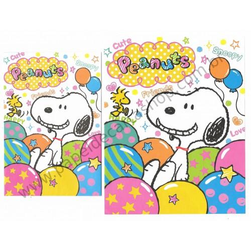 Conjunto de Papel de Carta Peanuts with Cute Friends - Peanuts
