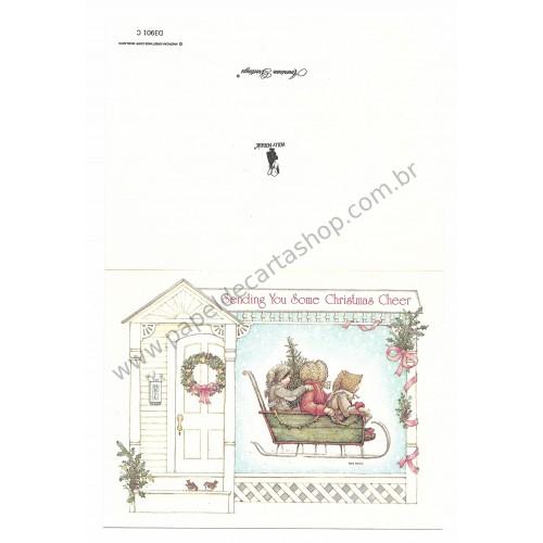 Conjunto de Papel de Carta ANTIGO Holly Hobbie M28