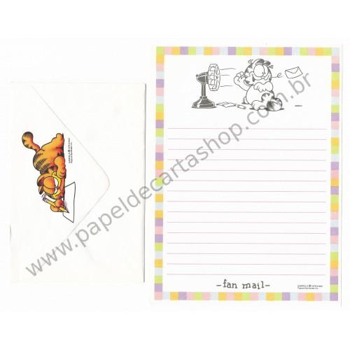Conjunto de Papel de Carta Garfield Fan Mail - Paws