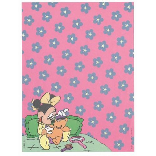 Papel de Carta Antigo Disney Minnie CRS - Best Cards