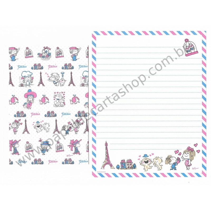 Conjunto de Papel de Carta com envelope ADO MIZUMORI 0025