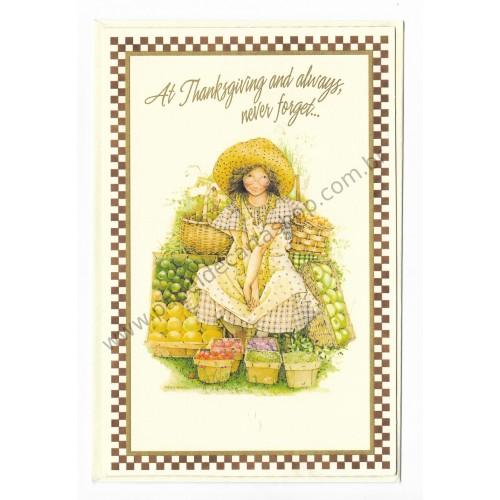 Cartão ANTIGO HOLLY HOBBIE G05