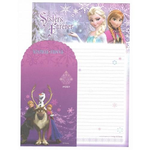 Conjunto de Papel de Carta Grande Disney Frozen - Sister Forever