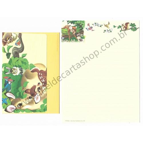 Conjunto de Papel de Carta Disney Bambi Sun-Star