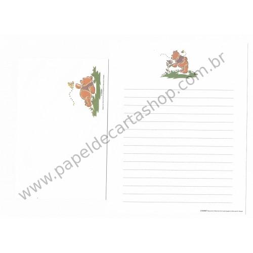 Conjunto de Papel de Carta Disney Winnie The Pooh Works (Branco)