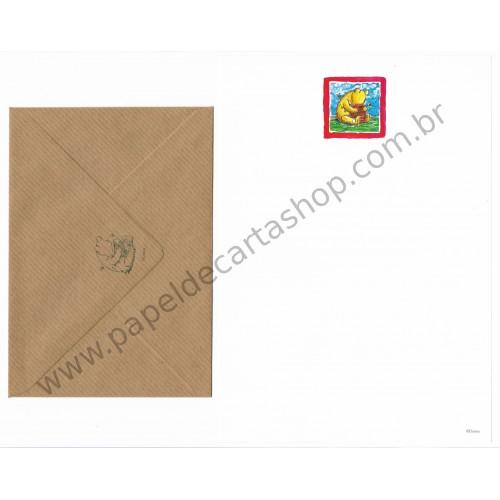 Conjunto de Papel de Carta Disney Pooh Honey (BK)