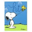 Notecard Cartão ANTIGO Importado Snoopy Hi! - Hallmark Cards