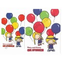 Ano 2008. Conjunto de Papel de Carta Patty & Jimmy One Afternoon Sanrio