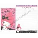 Ano 2013. Kit 2 Conjuntos de Papel de Carta My Melody CRSBL Sanrio