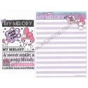 Ano 2014. Kit 2 Conjuntos de Papel de Carta My Melody A Cute Little Bunny Sanrio