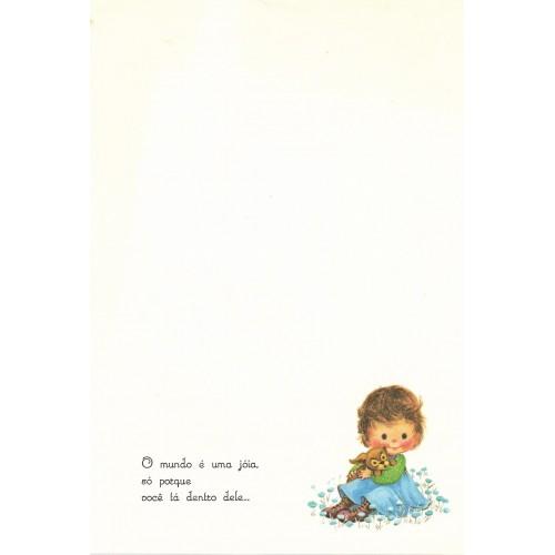 Coleção Paula G06. Papel de Carta Avulso