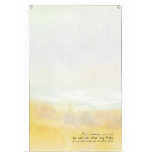 Coleção Paula K01. Papel de Carta Avulso