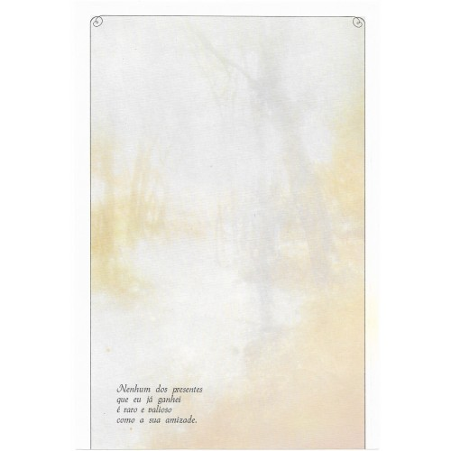 Coleção Paula K07. Papel de Carta Avulso