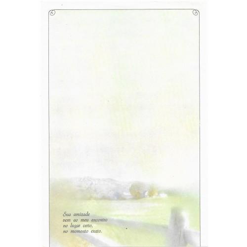 Coleção Paula K08. Papel de Carta Avulso