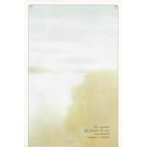 Coleção Paula K09. Papel de Carta Avulso