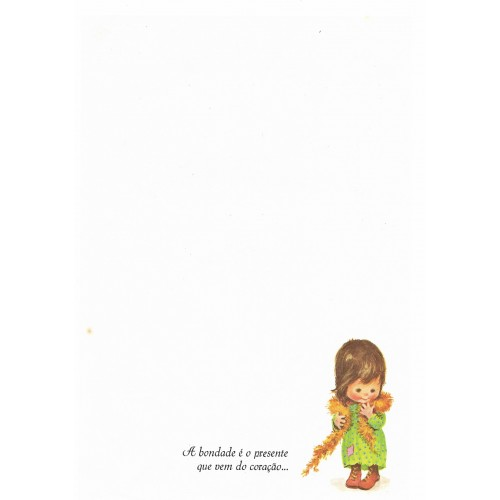 Coleção Paula T05. Papel de Carta Avulso