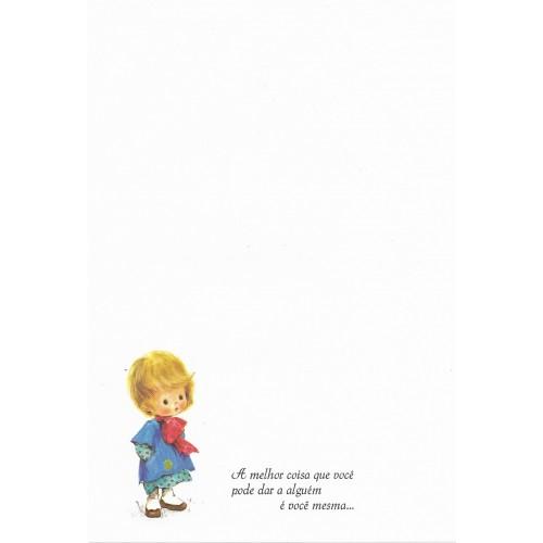 Coleção Paula T08. Papel de Carta Avulso