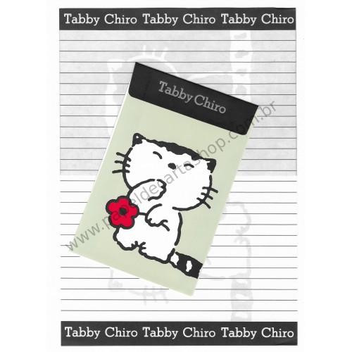 Conjunto de Papel de Carta Antigo (Vintage) Tabby Chiro CVM Korea