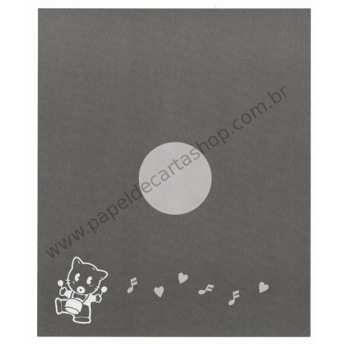Conjunto de Papel de Carta Antigo (Vintage) Little Samba - SSI Japan