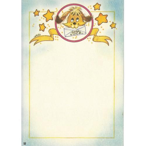 Papel de Carta Antigo Nelly 5140