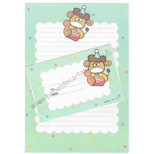 Conjunto de Papel de Carta Antigo (Vintage) Caramel Boy CVD YÜKARI JAPAN