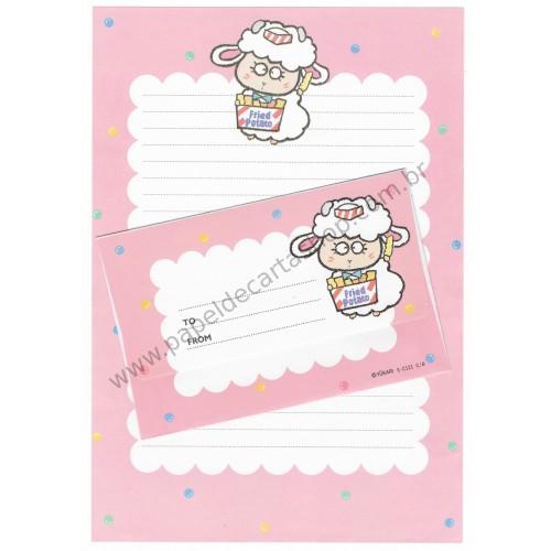Conjunto de Papel de Carta Antigo (Vintage) Caramel Boy CRS YÜKARI JAPAN
