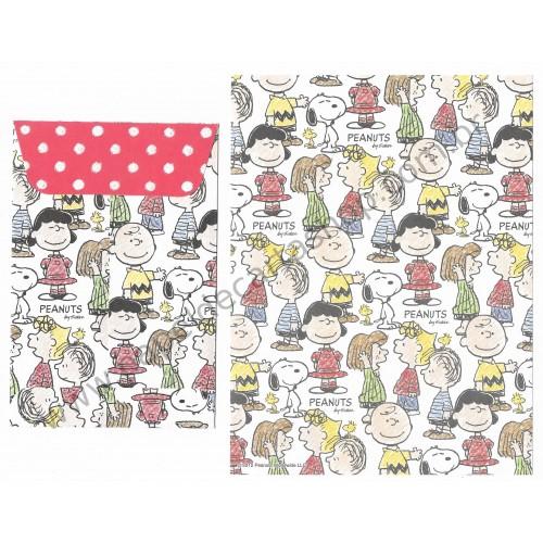 Conjunto de Papel de Carta Snoopy & Friends CBR Peanuts Delfino Japan