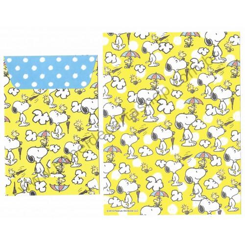 Conjunto de Papel de Carta Snoopy & Friends CAM Peanuts Delfino Japan