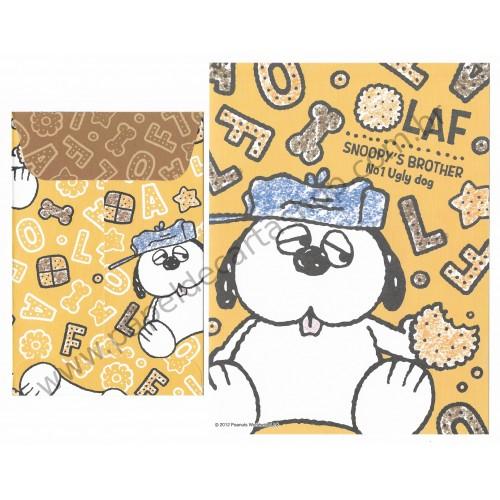 Conjunto de Papel de Carta Snoopy & Friends Olaf Peanuts Delfino Japan