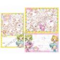 Conjunto de Papel de Carta MILKY STARS CAM - Q-Lia Japan