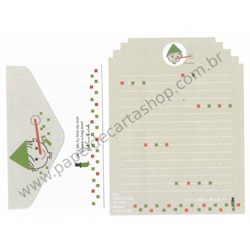 Conjunto de Papel de Carta Importado M - 002