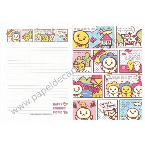 Papel de Carta AVULSO Picnic - Art-Box Korea